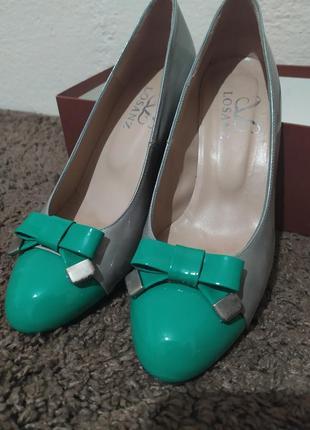 Туфли joni, натуральная кожа2 фото