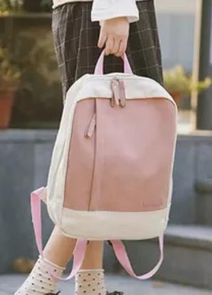Холщовый тканевый рюкзак молодёжный