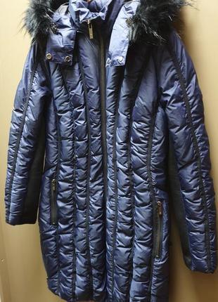 Американский новый демисезонный женский пуховик куртка zac zac posen. оригинал! скидка!