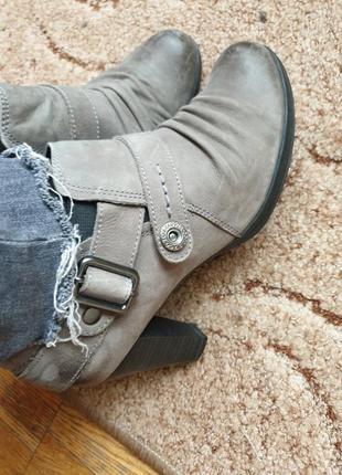 Стильные туфли ботинки кожа нубук