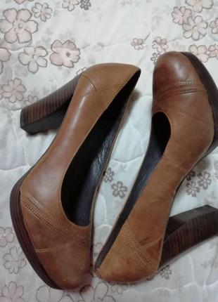 Туфли стильные кожаные 5th avenue 38 размер1 фото