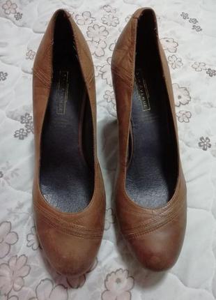 Туфли стильные кожаные 5th avenue 38 размер2 фото