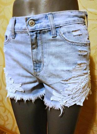 Hollister, шорты женские  w262 фото