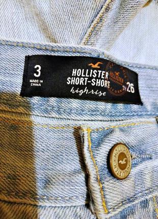 Hollister, шорты женские  w266 фото