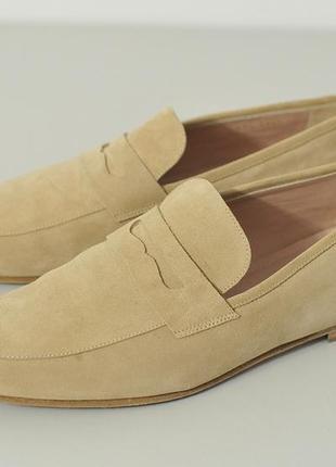 Замшеві туфлі лофери unuetzer - 43 1/3 - 28.5 см