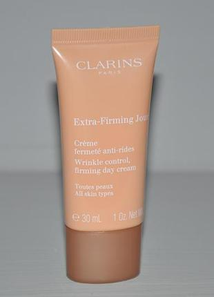 Дневной крем для лица clarins extra-firming day cream тревел формат 30ml