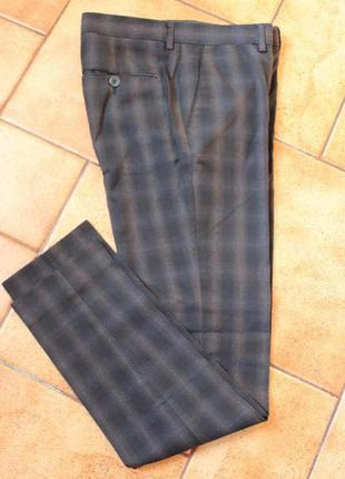 Мужские брюки zara размер s классика zara