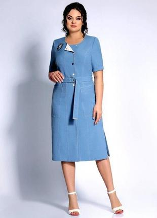 Белорусские платья ! эффектное , стильное платье,jersey , р.58