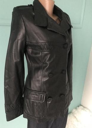 Куртка демисезонная турция кожа2 фото