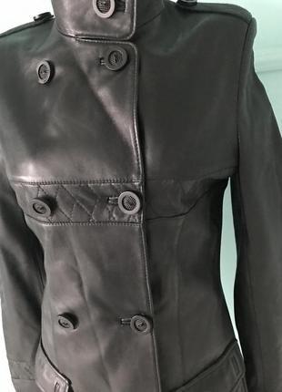 Куртка демисезонная турция кожа3 фото