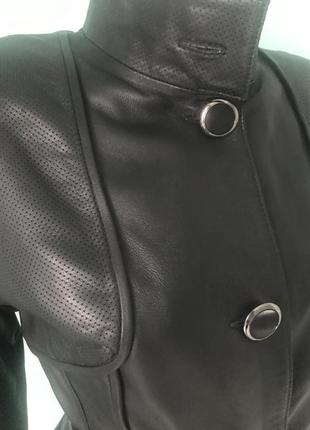 Куртка демисезонная кожа турция3 фото
