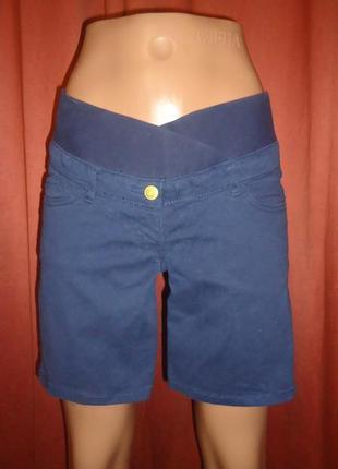 Джинсовые шорты для беременных от hm