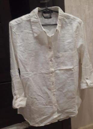 Трендовая льняная рубашка reserved