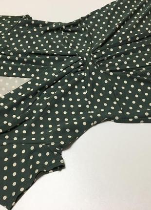 Сукня міді платье горох р82 фото