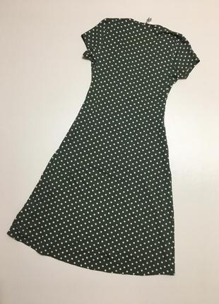 Сукня міді платье горох р83 фото