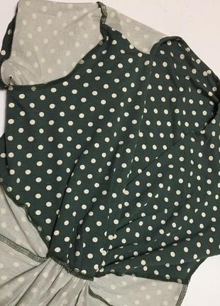 Сукня міді платье горох р86 фото