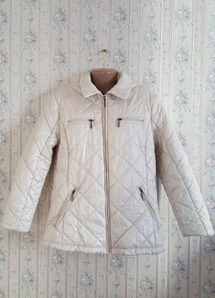 Куртка стильная теплая на синтепоне, германия, разм.48