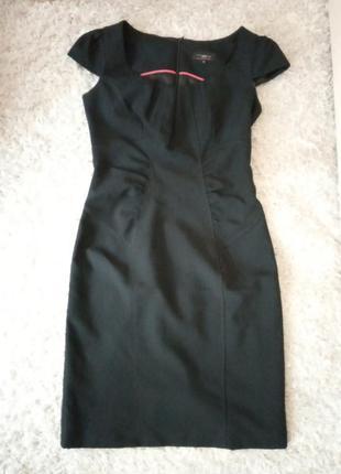 Моделирующее платье футляр, офис, дресс код, чехол