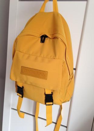 Рюкзак молодёжный тканевый холщовый в корейском стиле . защита от промокания!!!