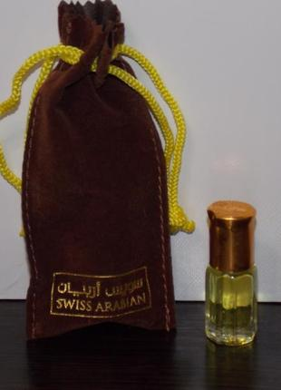 Арабские стойкие масляные духи без спирта jasmin от swiss arabian