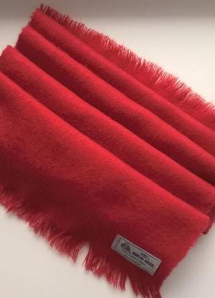 Эксклюзивный шарфиз уругвая100% virgin wool (шерсть молодой овцы)