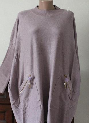 Туника-платье, размер 58