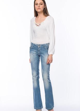 Фирменные женские джинсы gizia размер 42 l-xl