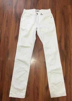 Белые брюки, размер 28