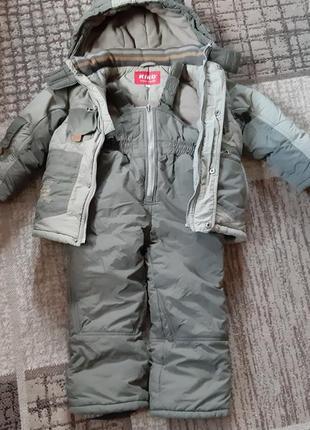 Зимний костюм  kiko 104см