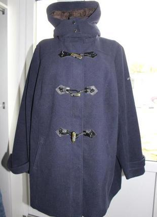 Красивое пальто большого размера немецкого бренда s. oliver