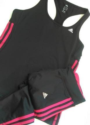 8-10 классный комплект костюм для тренировок спорта adidas оригинал