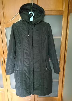 Куртка -пальто пуховик наш р-р 48-50