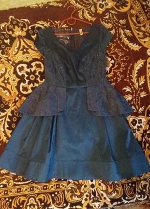 Новое нарядное платье от украинского дизайнера.