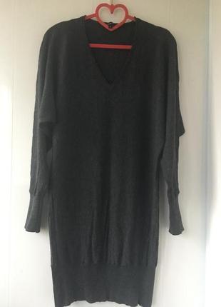 Франция! тёплое туника платье натуральная шерсть кашемир, axara paris
