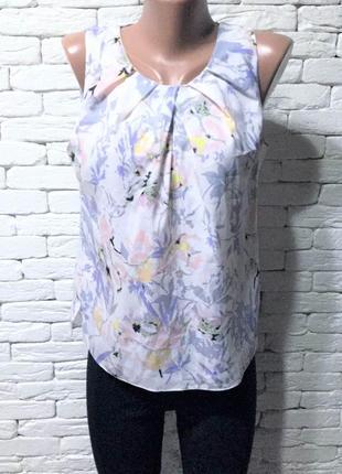 Лёгкая блуза, спинка на пуговичках
