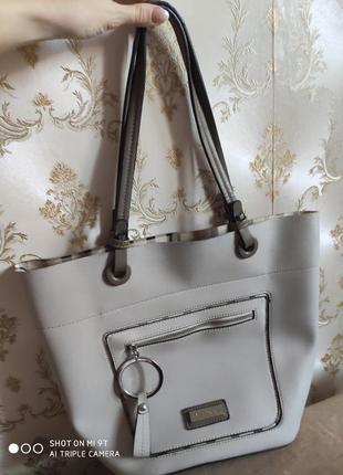 Стильная сумка итальянского бренда pierre cardin