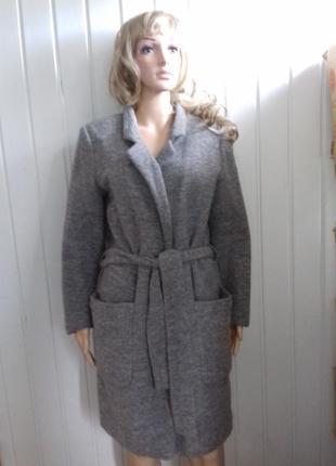 Пальто top secret женское валяное в отличном состоянии