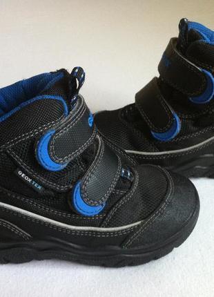 Мега удобные утепленные ботинки geox с мембраной geox-tex 🍂❄️ размер 25 оригинал ❗❗❗