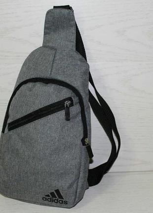 Мужская новая сумка на грудь