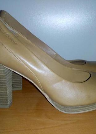 Туфли брендовые кожанные