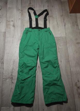 Лыжные штаны, полукомбинезон, комбинезон icepeak, р.152