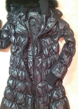 Пуховое пальто leonardo(italy)