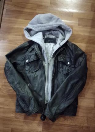 Куртка натуральная кожа next