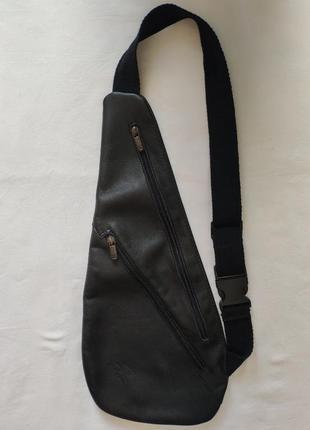 Кожаная сумка кросс-боди san roman