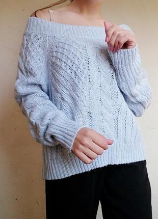 Свитер в косичку джемпер chicoree кофта пуловер6 фото