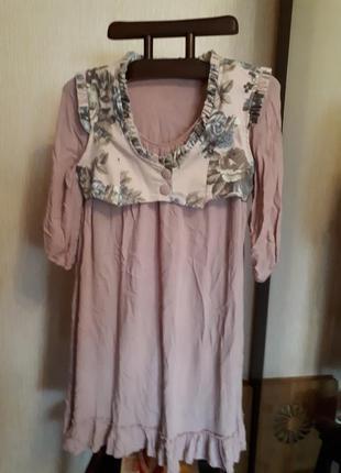 #розвантажуюсь.супер платье пудра в стиле кантри. очень женственно и стильно.