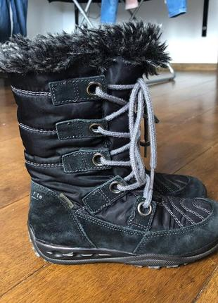 Термосапоги ботинки замшевые superfit система мембрана gore-tex  р. 29