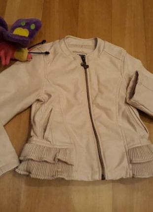Стильная курточка для модниц,эко кожа