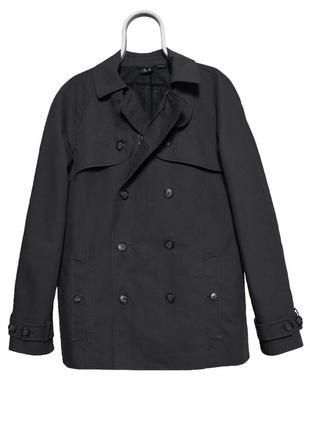 Armani exchange trench coat мужской тренч пальто оригинал!