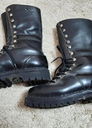 Кожаные ботинки, берцы австрия